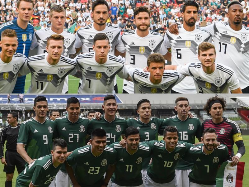 Alemania, el 'padre' de México en partidos oficiales