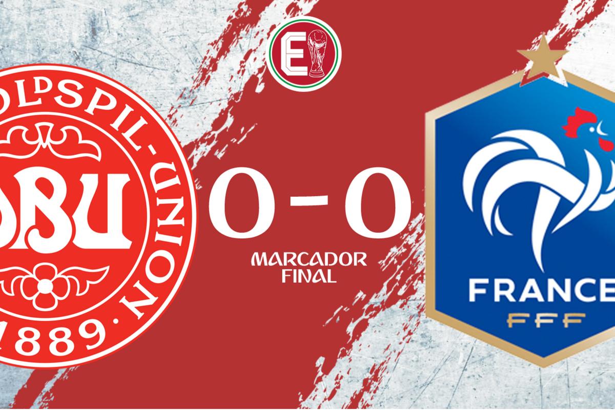Francia y Dinamarca igualan sin goles