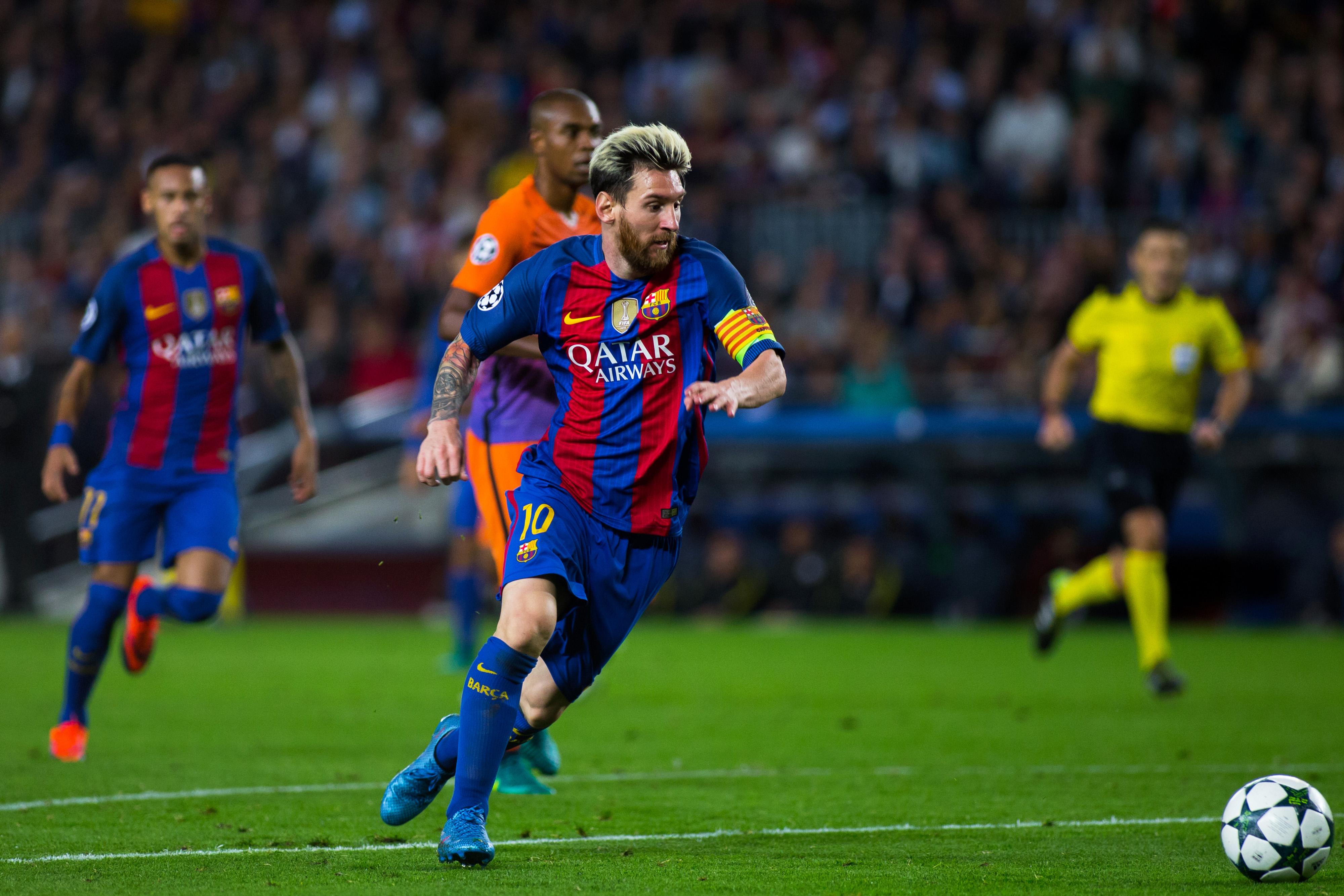 Barcelona encabeza lista de ingresos por patrocinios