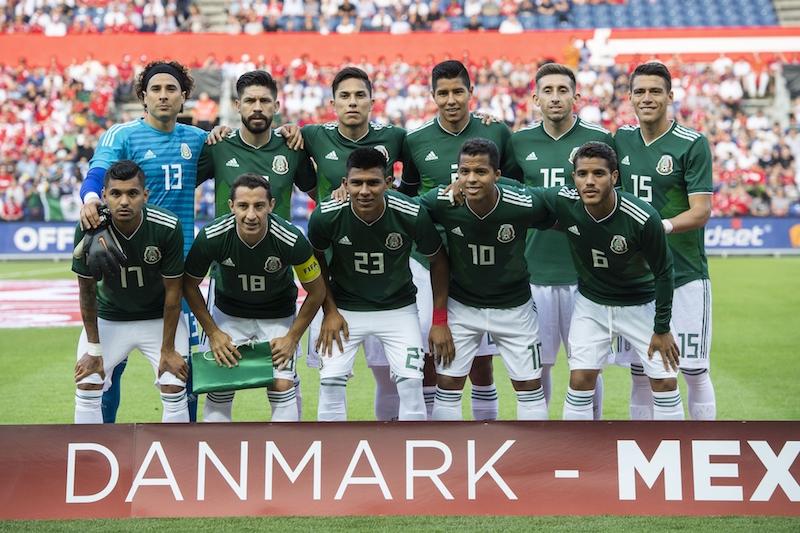 México, la selección más experimentada en Rusia 2018