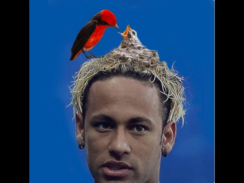 Los memes del peinado de Neymar