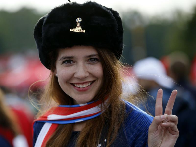 Bellezas mundiales en el primer día de Rusia 2018