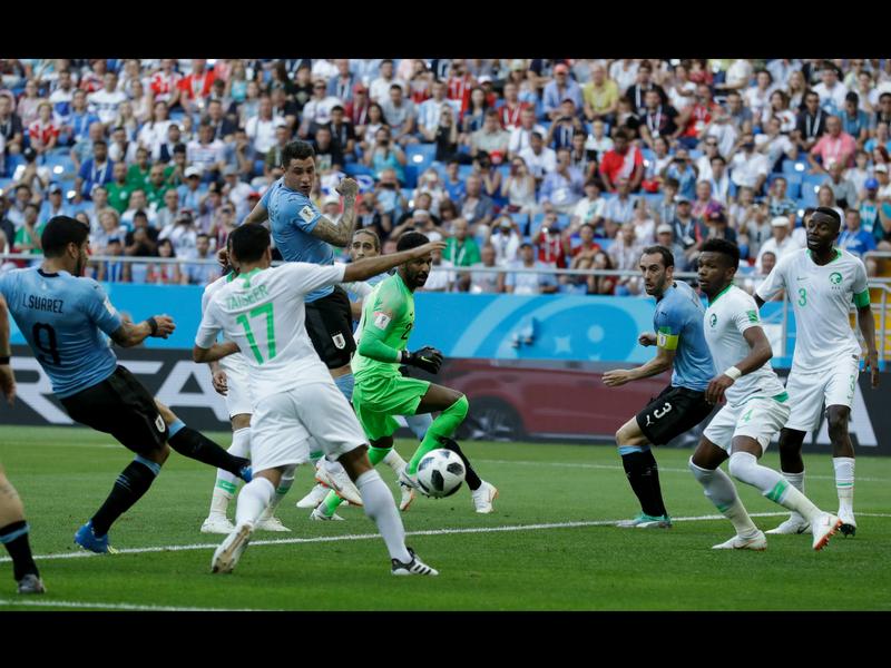 ¡Uruguay golea a Rusia!