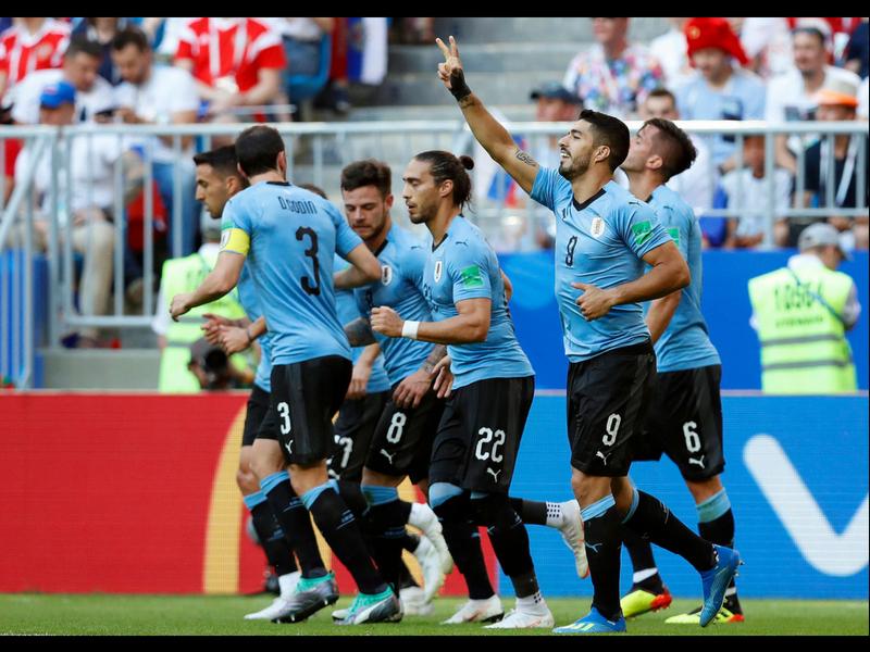 Uruguay se lleva el Grupo A