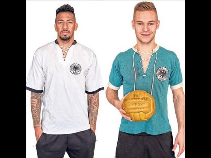 ¡ELEGANTES!, Las playeras mundialistas de Alemania