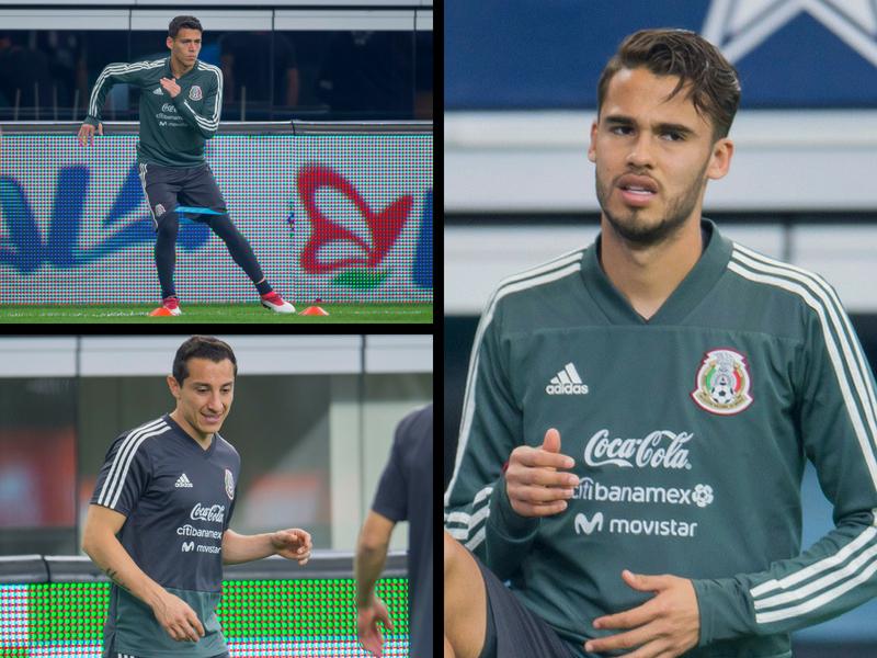 TRI: Guardado y Moreno sí, Diego Reyes no