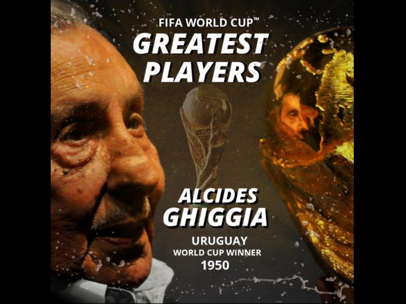 Alcides Ghiggia vence a Maradona como mejor futbolista en Mundiales