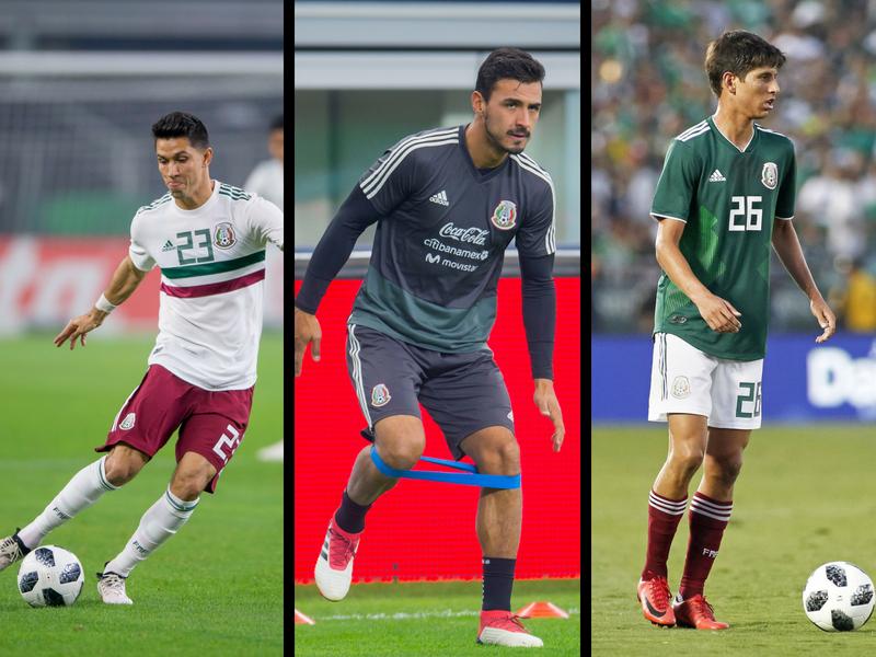 Molina, Damm y Alanis, tres bajas más para el TRI