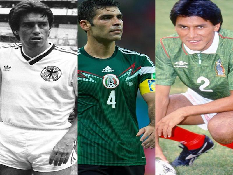 Los capitanes mexicanos en la historia de los Mundiales