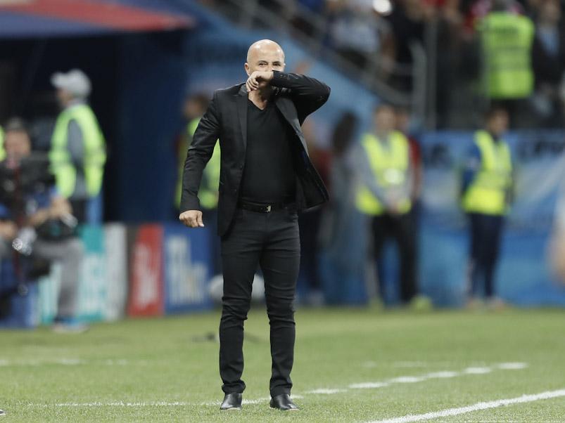 Motín argentino contra Sampaoli