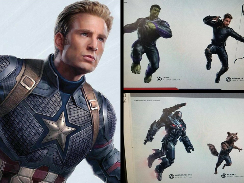 Filtran posibles looks de los héroes de Marvel para Avengers 4