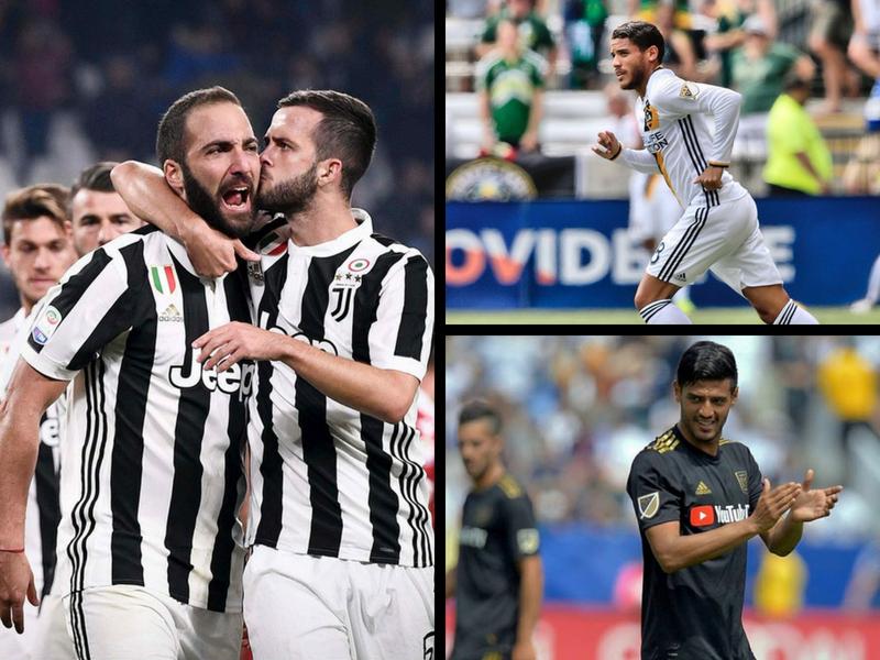 Jona y Vela jugarán contra la Juventus