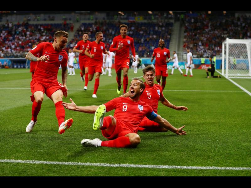 Harry Kane le da el triunfo a Inglaterra en el último minuto