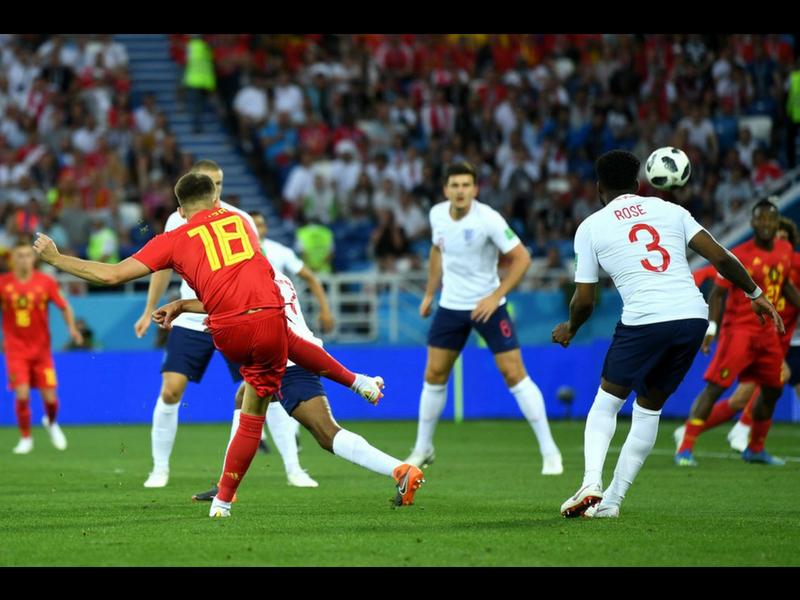 Bélgica lo gana con un golazo