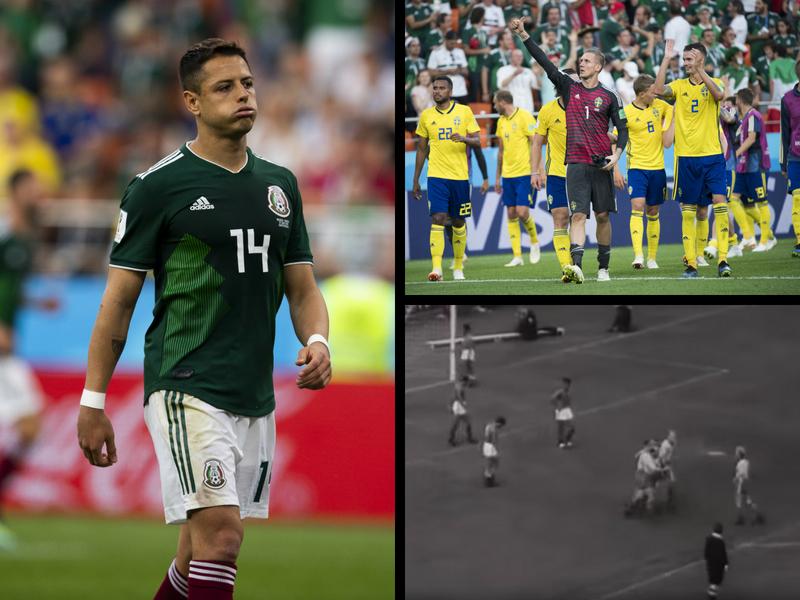 México vs Suecia, 2 Mundiales y 2 goleadas