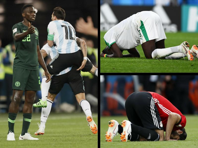 El Mundial se queda sin africanos