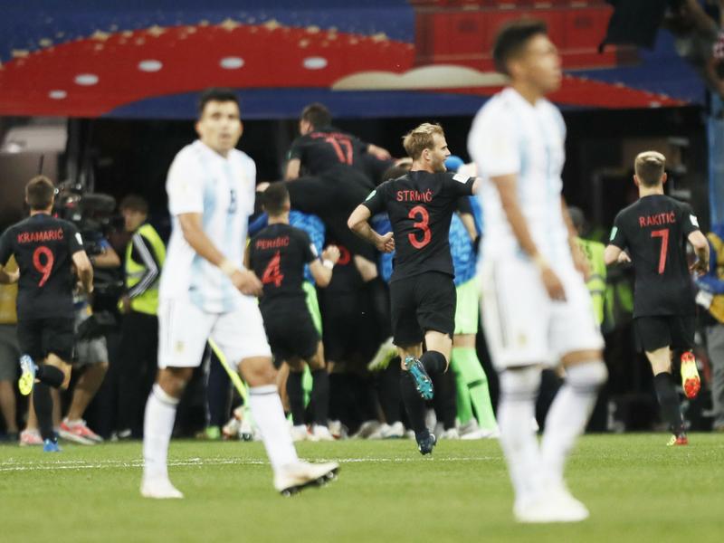 Croacia humilla a Argentina