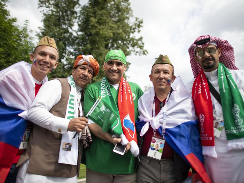 ¡Rusia está de fiesta para celebrar el Mundial!