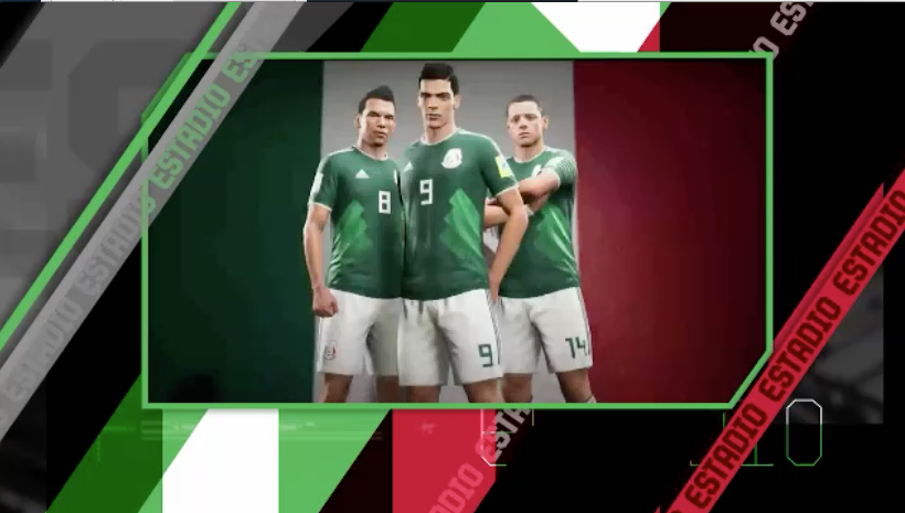 Simulan Mundial en FIFA 18