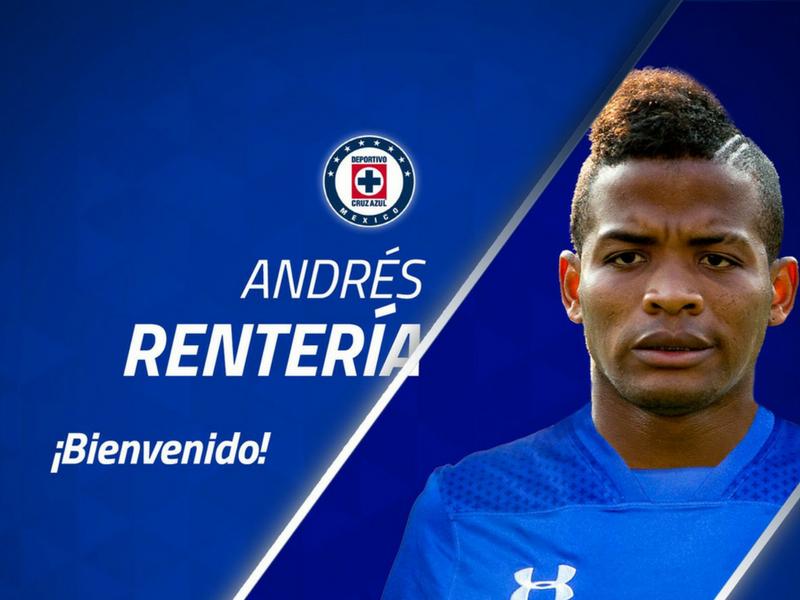 Oficial: Andrés Rentería se viste de azul