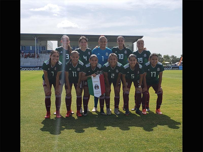 Tri Femenil sub 17 consigue su boleto al Mundial de Uruguay