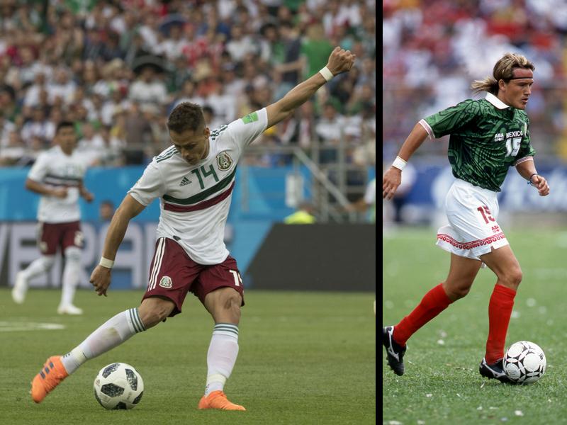 Chicharito, máximo goleador en Mundiales