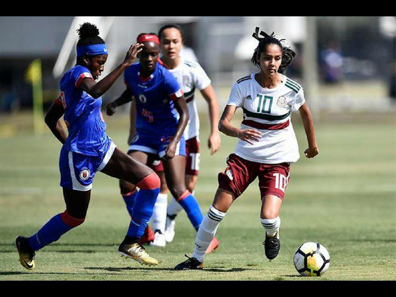 Tri Sub-17 femenil avanza a semifinales del Premundial