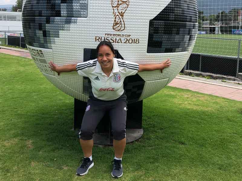 Charlyn Corral ve a un México poderoso en el Mundial