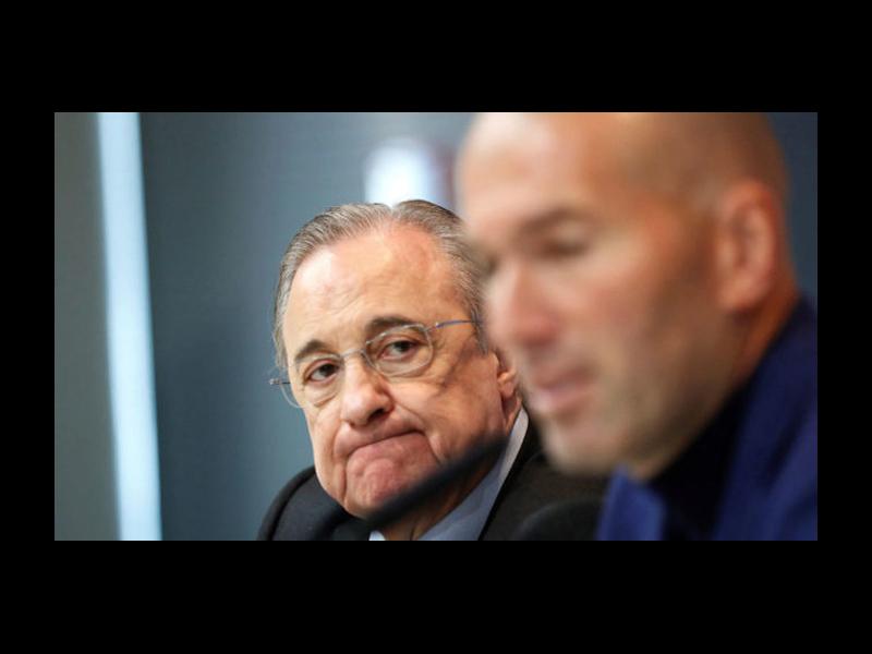 Se le caen opciones de técnico al Real Madrid