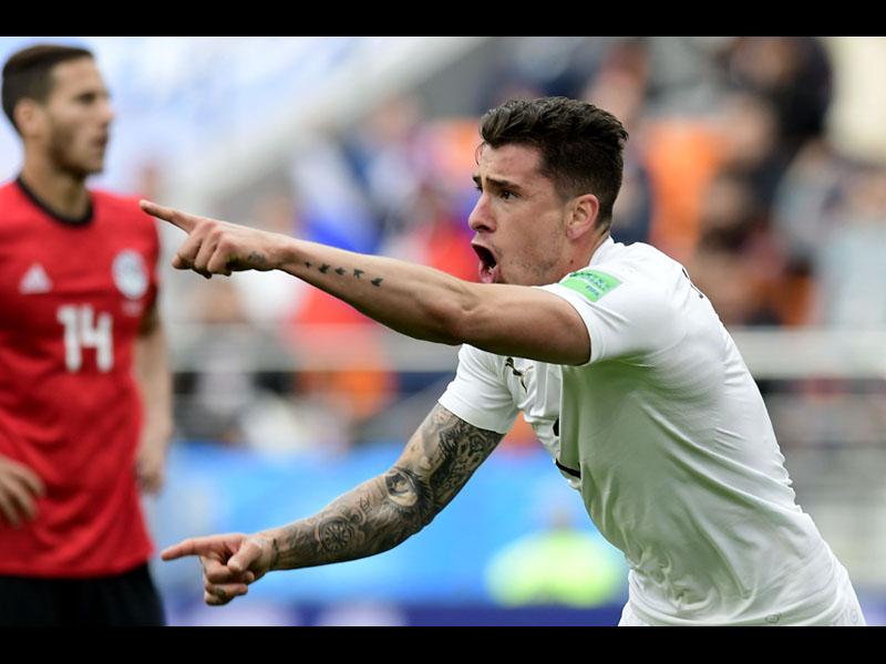 Uruguay consigue sufrido triunfo ante Egipto