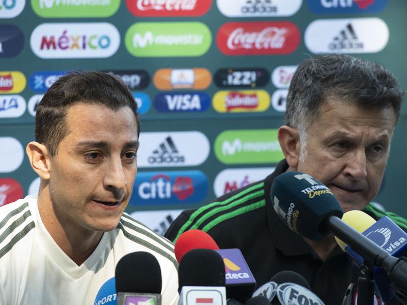 Guardado y Osorio dan la cara por el Tri tras 'fiesta'