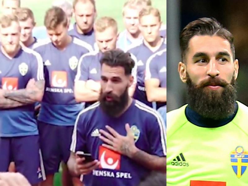 Amenazan de muerte a jugador sueco