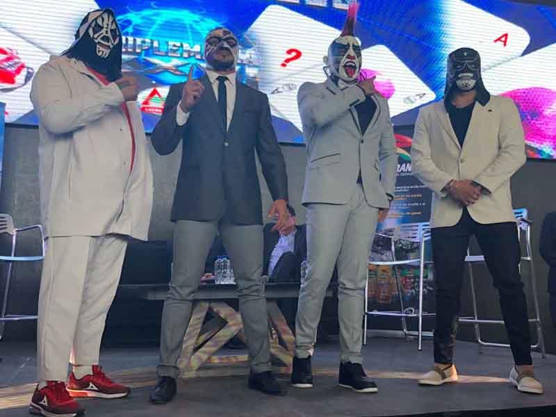 L.A. Park y Pentagón Jr. se jugarán la máscara en Póker de Ases