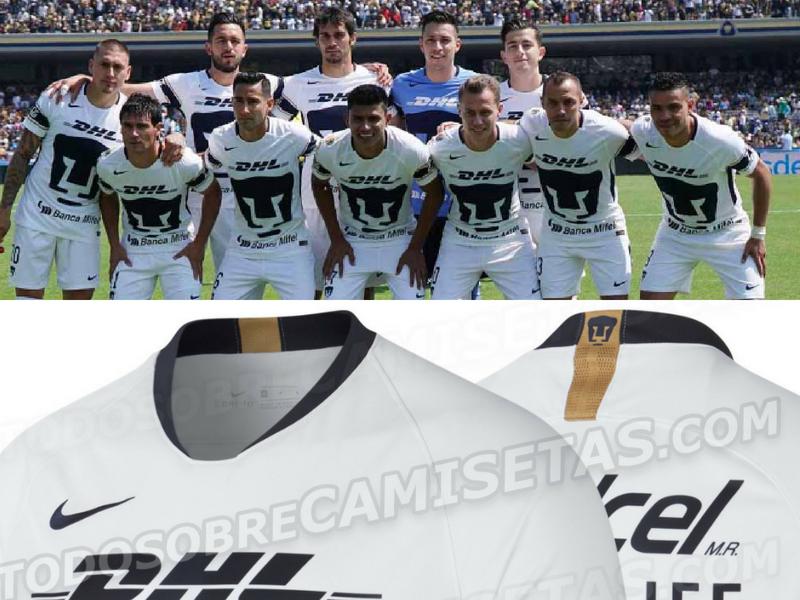 Imágenes del nuevo uniforme de Pumas