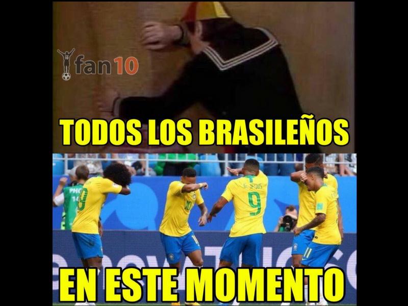Los memes golean y despiden a Brasil del Mundial
