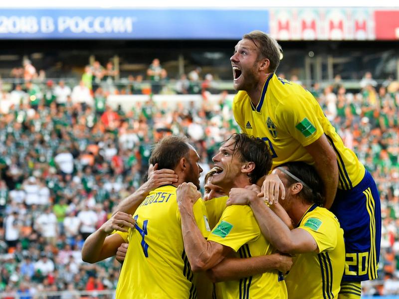 ¡Suecia está en Cuartos de Final!