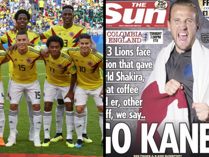 The Sun publica portada ofensiva hacia Colombia