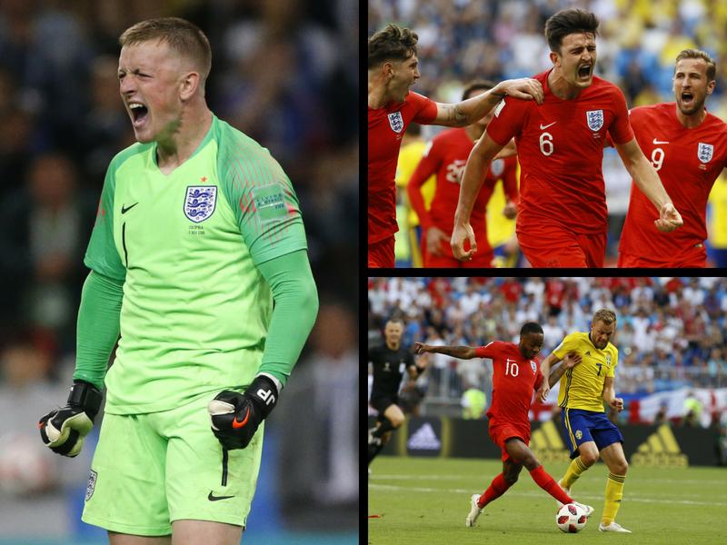 Inglaterra está en semifinales y Suecia se va a casa
