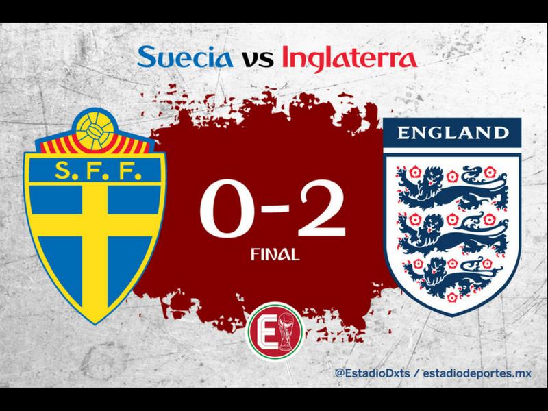 ¡Inglaterra elimina a Suecia!