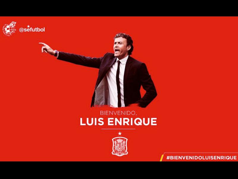 Luis Enrique, nuevo DT de España