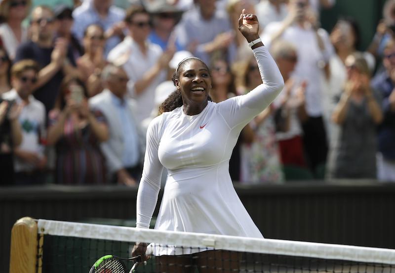 Wimbledon podría cambiar reglamento por Serena