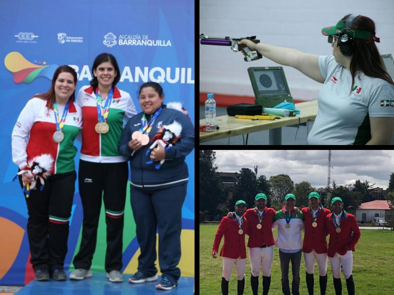 México con paso de oro en Barranquilla
