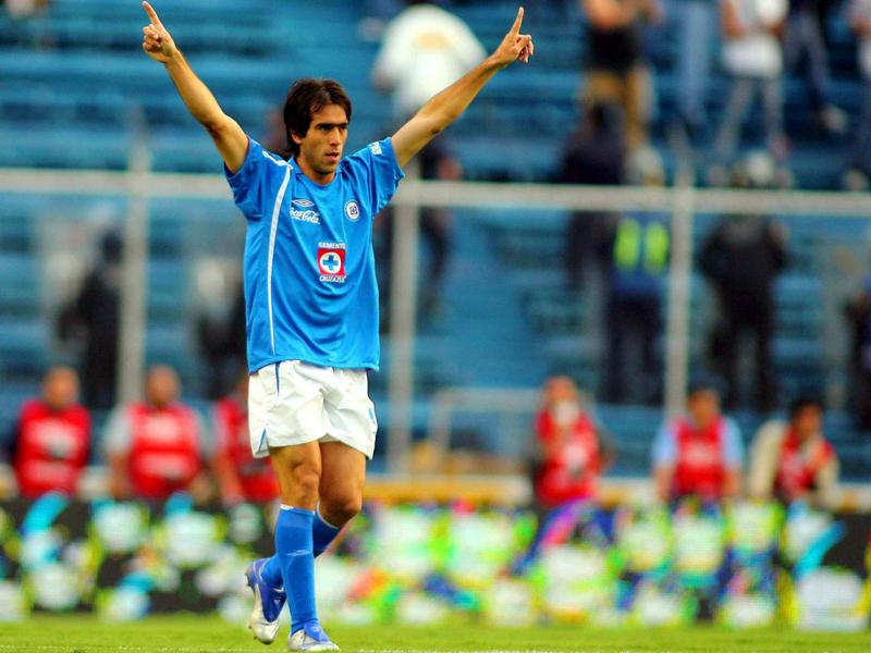 Grandes momentos del 'Chelito' Delgado en Cruz Azul