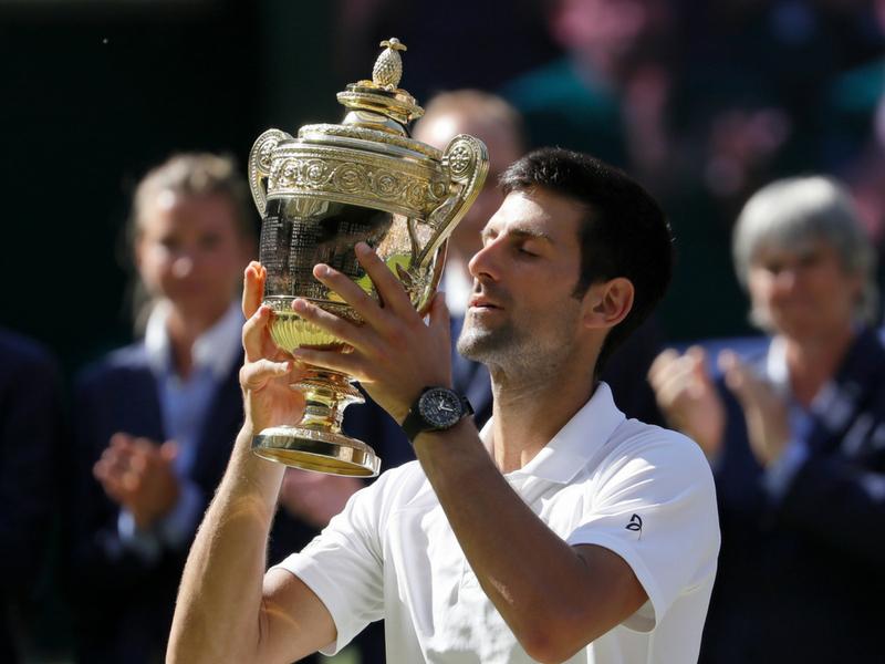 Djokovic atrapa Wimbledon por cuarta ocasión