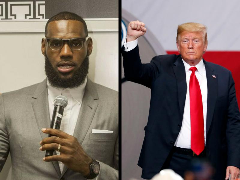 LeBron James otra vez contra Trump