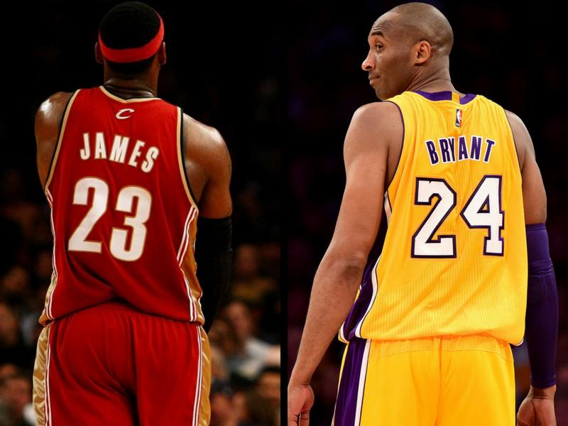 ¡No es broma! ¿Se imaginan a LeBron James y Kobe Bryant juntos?