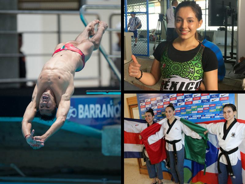 Llueven medallas para México