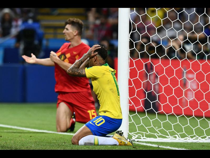 Bélgica es serio candidato y elimina a Brasil