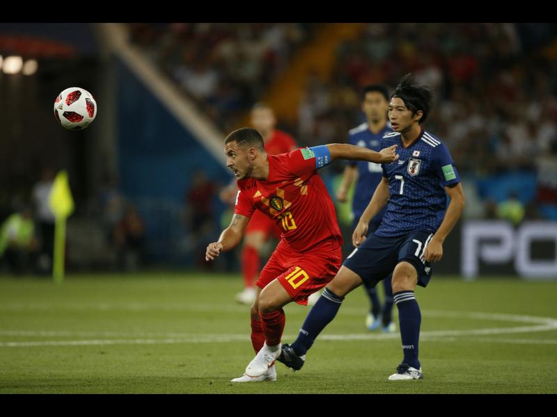 Bélgica logró el triunfo de último minuto