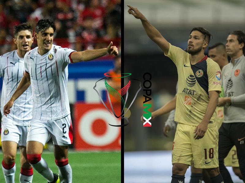 ¿A qué hora debutan Chivas y América en la Copa MX?